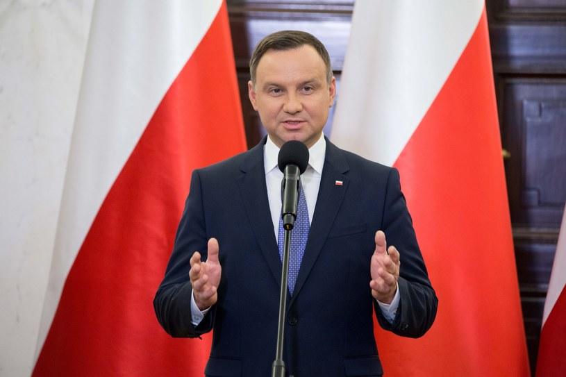 Prezydent Andrzej Duda /Darek Redos /Reporter