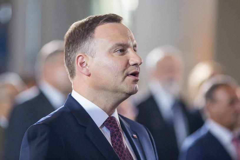 Prezydent Andrzej Duda / Jakub Walasek /Reporter