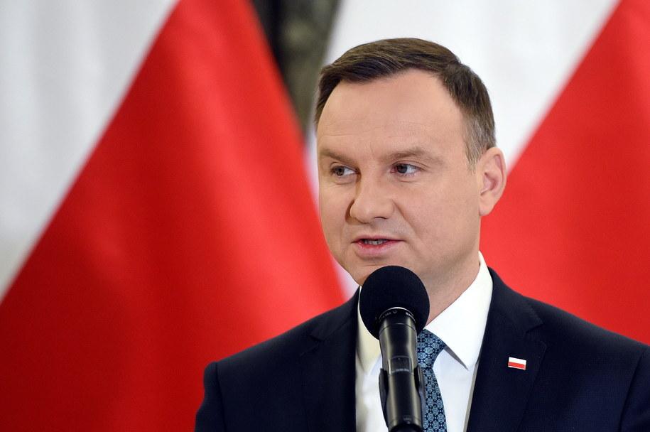 Prezydent Andrzej Duda /PAP/Radek Pietruszka    /PAP