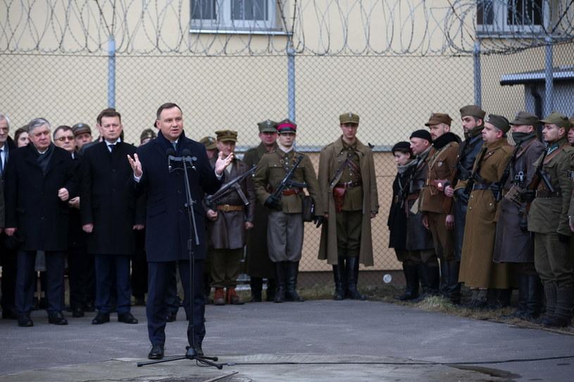 Prezydent Andrzej Duda /Rafał Guz /PAP