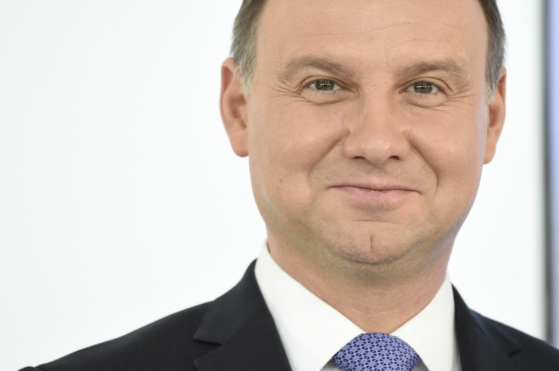 Prezydent Andrzej Duda /Jacek Dominski/REPORTER /East News
