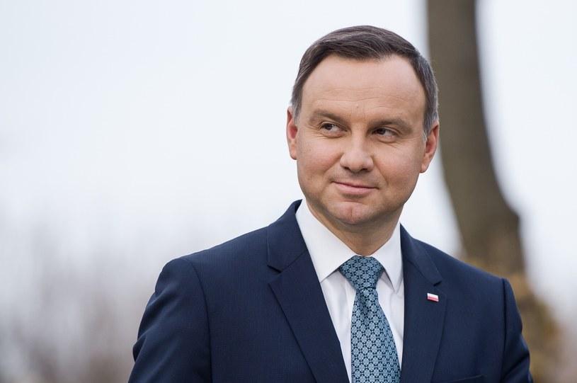 Prezydent Andrzej Duda /Rafal Oleksiewicz/REPORTER /&nbsp