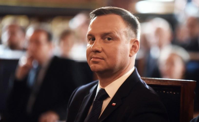 Prezydent Andrzej Duda /Marek Lasyk  /East News