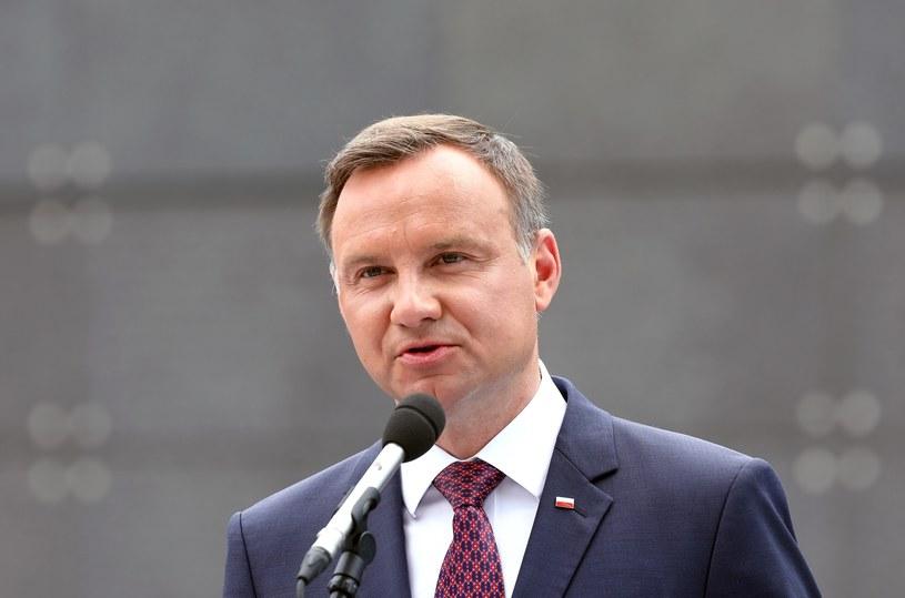 Prezydent Andrzej Duda /STANISLAW KOWALCZUK /East News