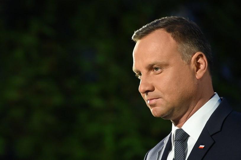 Prezydent Andrzej Duda /Rafal Oleksiewicz /East News