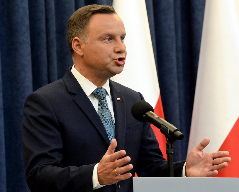 Prezydent Andrzej Duda /Janek Skarżyński /AFP