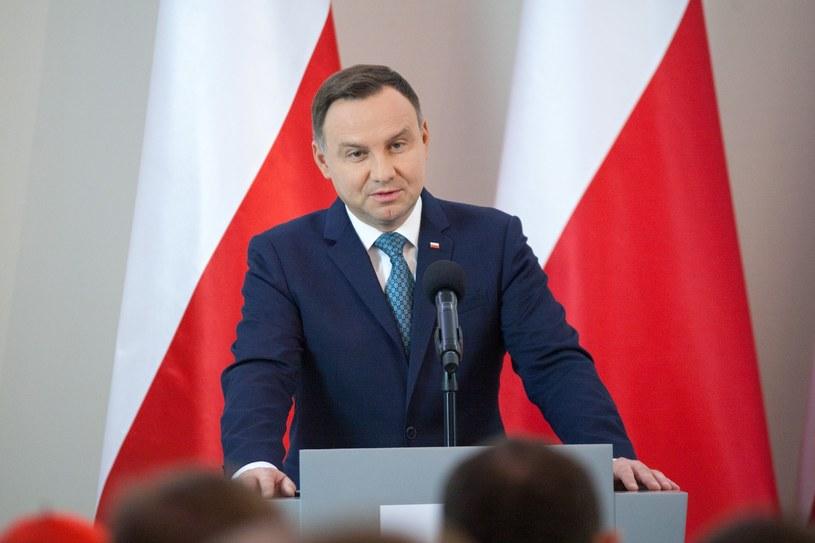 Prezydent Andrzej Duda /Pawel Wisniewski /East News
