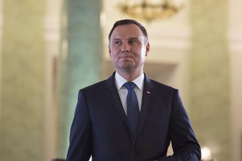 Prezydent Andrzej Duda /Andrzej Hulimka  /Reporter
