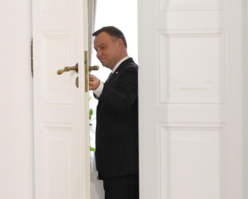 Prezydent Andrzej Duda /AP Photo/Czarek Sokolowski /East News