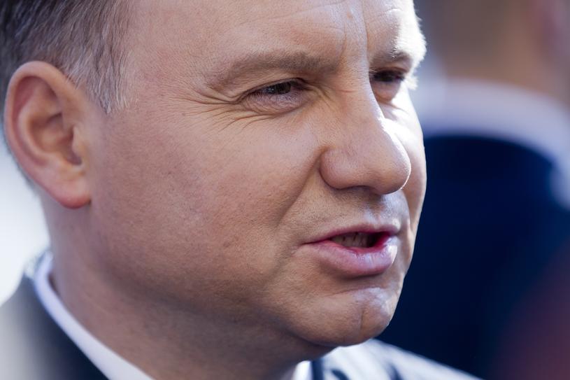 Prezydent Andrzej Duda /LUKASZ GAGULSKI SE / /East News