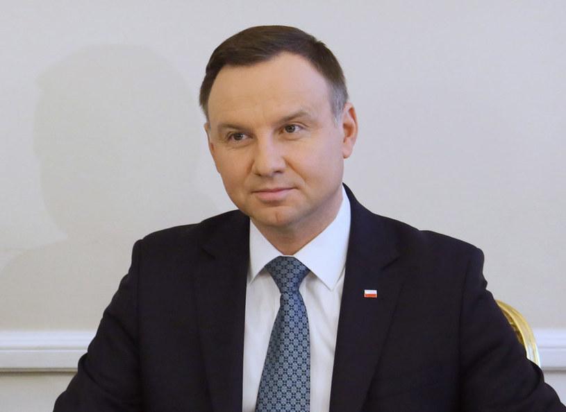 Prezydent Andrzej Duda /Leszek Szymański /PAP