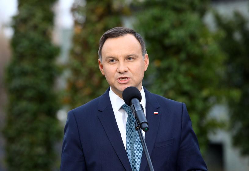 Prezydent Andrzej Duda /Fot. Stanislaw Kowalczuk /East News