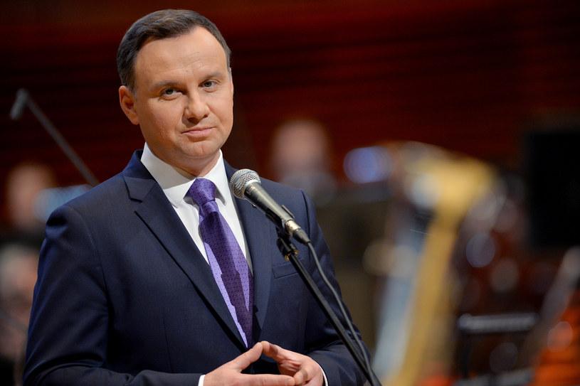 Prezydent Andrzej Duda /Fot. Lukasz Kalinowski /East News