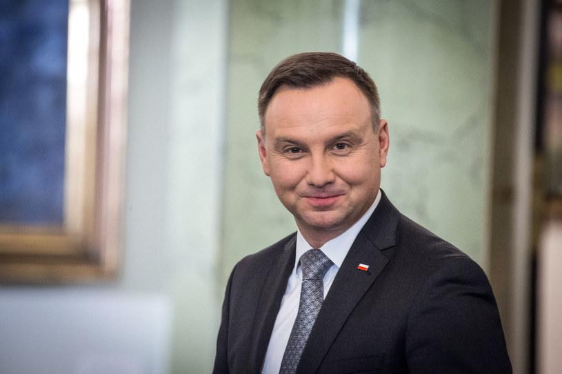 Prezydent Andrzej Duda /Jacek Domiński /Reporter