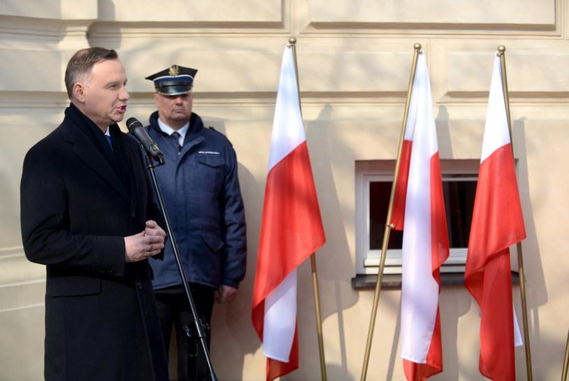 Prezydent Andrzej Duda /Jakub Kamiński   /PAP