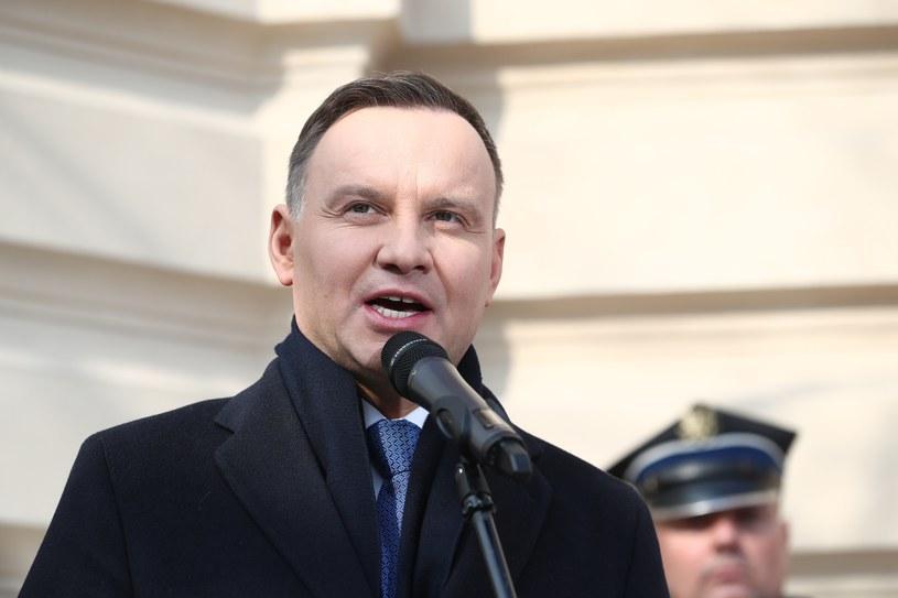 Prezydent Andrzej Duda /fot. Andrzej Iwanczuk /Reporter