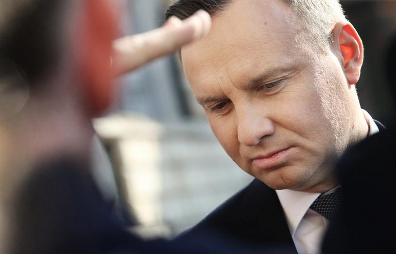 Prezydent Andrzej Duda /Damian Klamka /East News