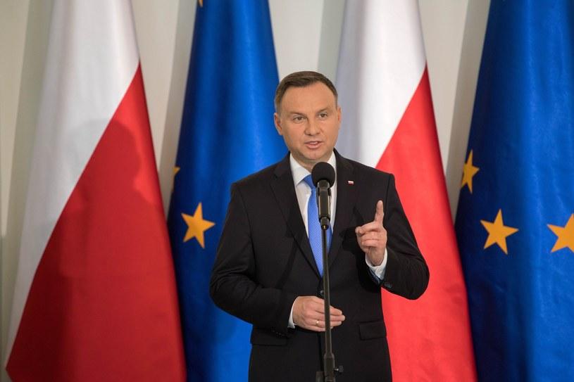 Prezydent Andrzej Duda /Paweł Wisniewski /East News