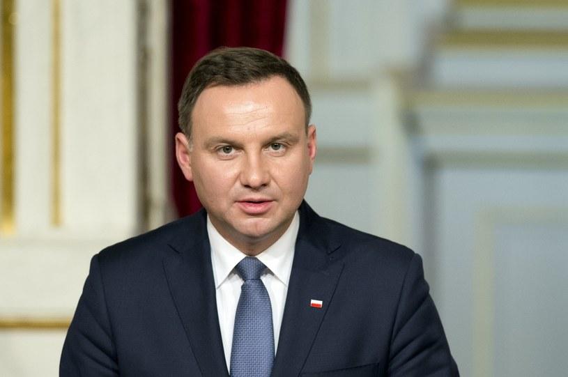 Prezydent Andrzej Duda /ALAIN JOCARD /East News