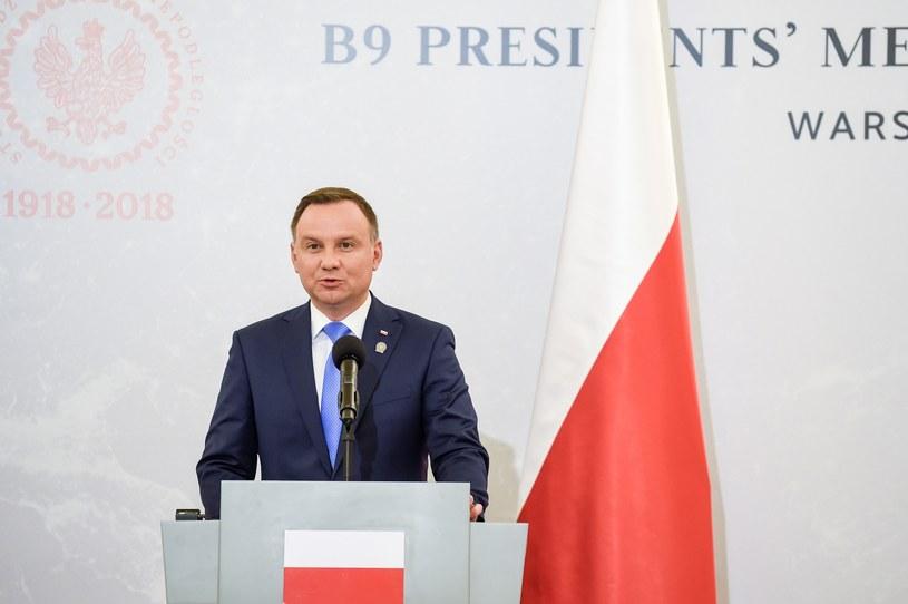 Prezydent Andrzej Duda /Agnieszka Sniezko /East News