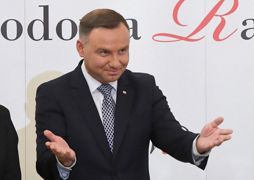 Prezydent Andrzej Duda / Radek Pietruszka   /PAP