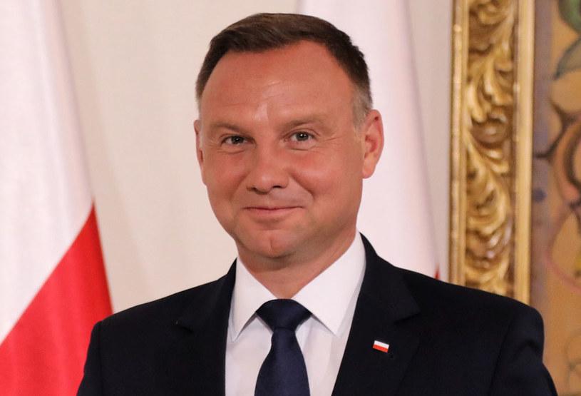 Prezydent Andrzej Duda /Jacek Bednarczyk   /PAP