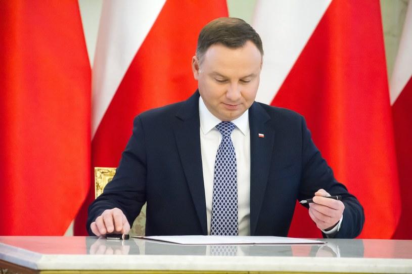 Prezydent Andrzej Duda /Wojciech Stróżyk /Reporter