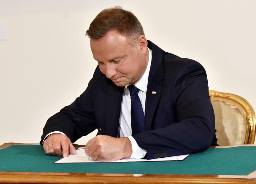 Prezydent Andrzej Duda /Artur Barbarowski /East News