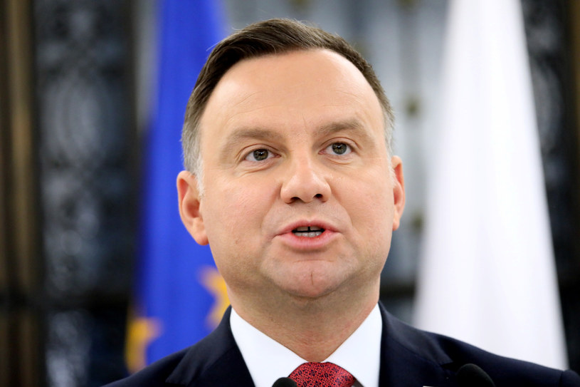Prezydent Andrzej Duda /Piotr Molecki /Reporter