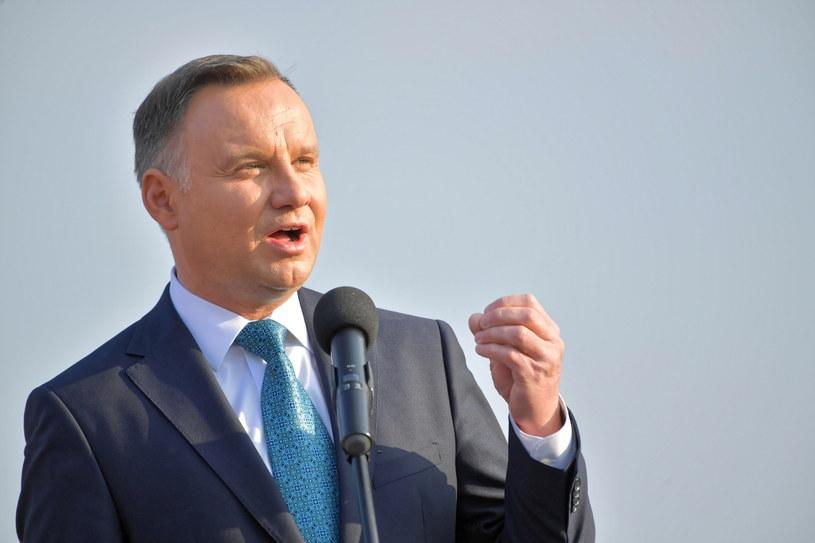 Prezydent Andrzej Duda /Przemysław Piątkowski /PAP