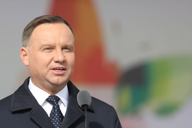 Prezydent Andrzej Duda /Fot Tomasz Jastrzebowski /Reporter