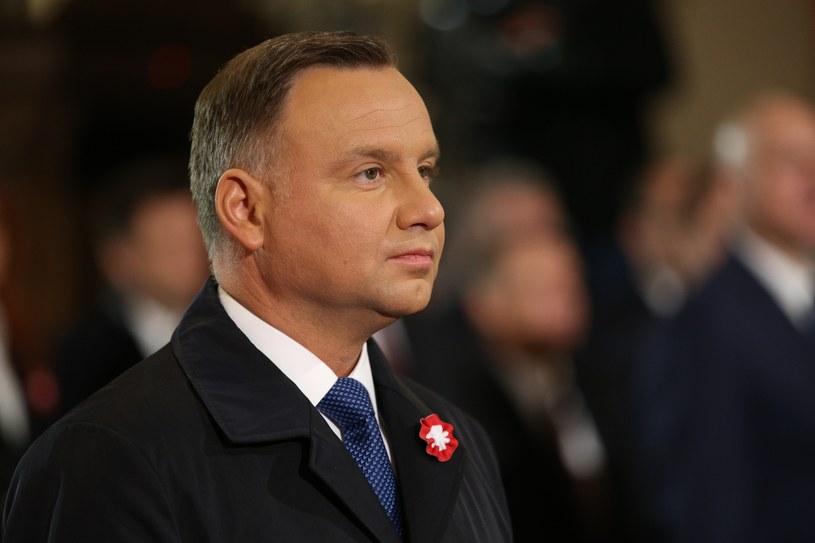 Prezydent Andrzej Duda /Rafał Gaglewski /East News