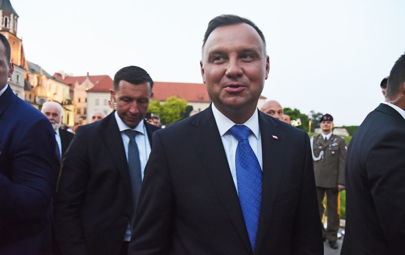 Prezydent Andrzej Duda /Marek Lasyk  /Reporter