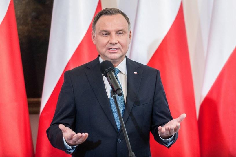 Prezydent Andrzej Duda /Reporter