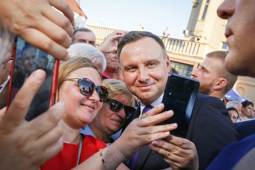 Prezydent Andrzej Duda /Witold Spisz /Reporter