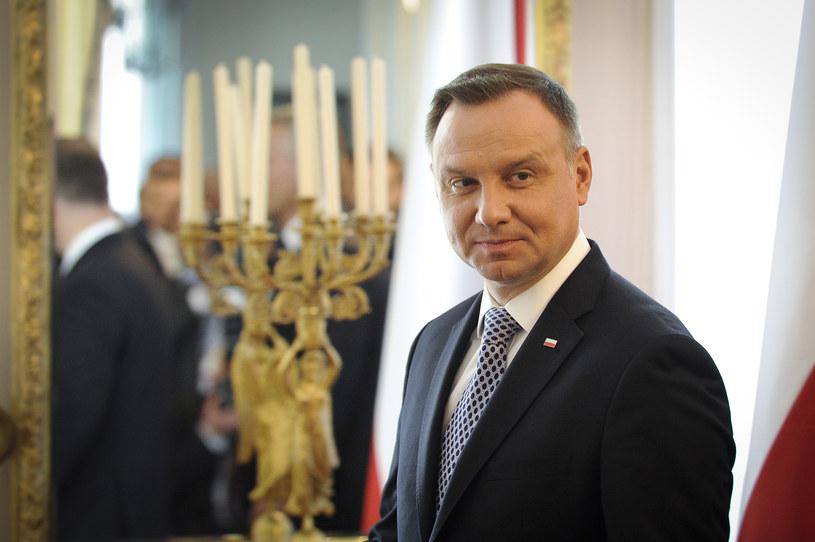 Prezydent Andrzej Duda /Jaap Arriens/NurPhoto /Getty Images