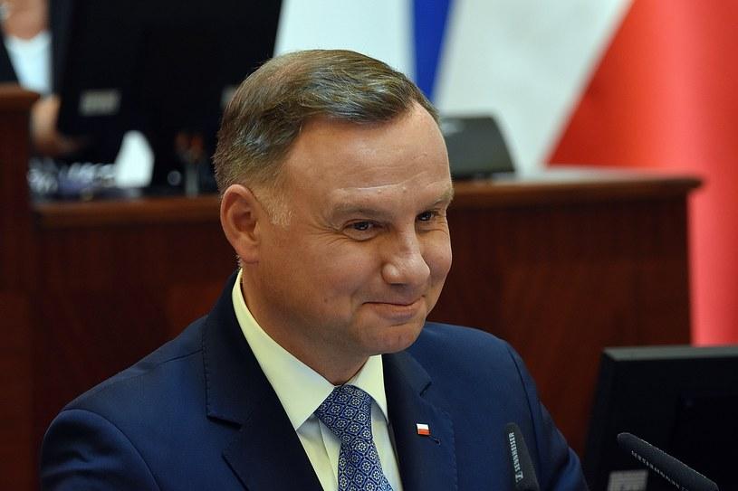 Prezydent Andrzej Duda /Daniel Bodzenta /East News