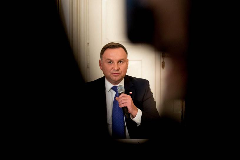 Prezydent Andrzej Duda /MICHAL CIZEK/AFP/ /East News
