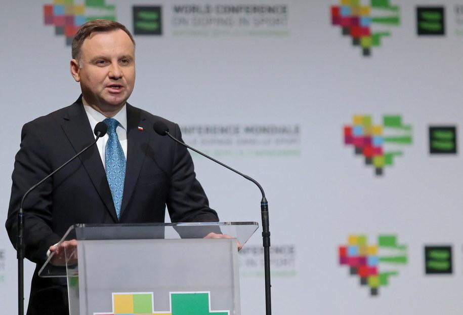 Prezydent Andrzej Duda / Andrzej Grygiel    /PAP