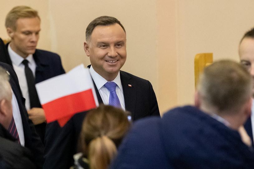 Prezydent Andrzej Duda /Robert Stachnik /Reporter