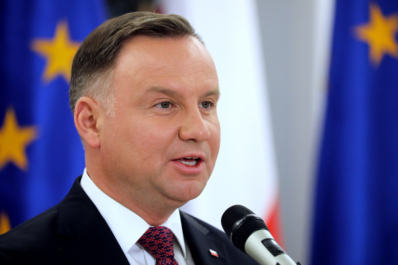 Prezydent Andrzej Duda /Fot. Piotr Molecki /East News
