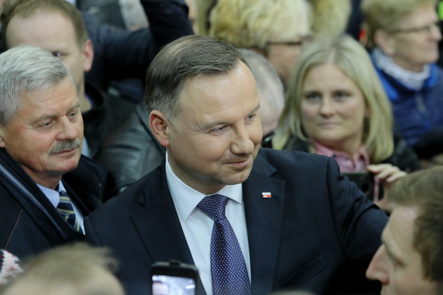 Prezydent Andrzej Duda /Artur Reszko /PAP