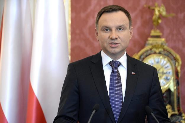 Prezydent Andrzej Duda /PAP
