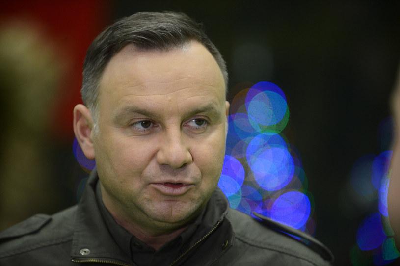 Prezydent Andrzej Duda /Marcin Wziontek/Agencja SE /East News