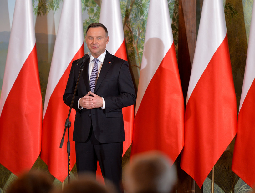 Prezydent Andrzej Duda /Łukasz Solski / East News /East News