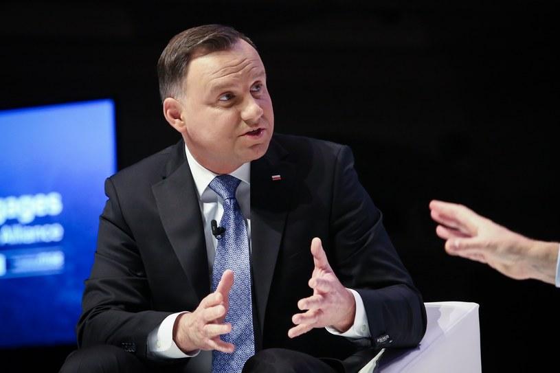 Prezydent Andrzej Duda /Mateusz Wlodarczyk /Agencja FORUM