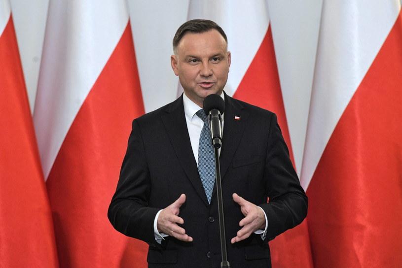 Prezydent Andrzej Duda / Radek Pietruszka   /AFP