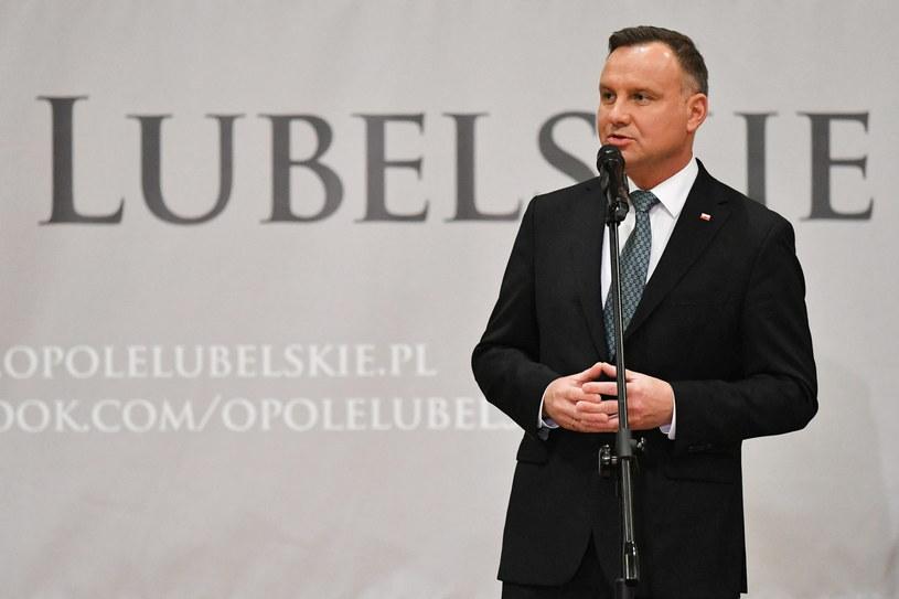 Prezydent Andrzej Duda /Wojtek Jargiło /PAP