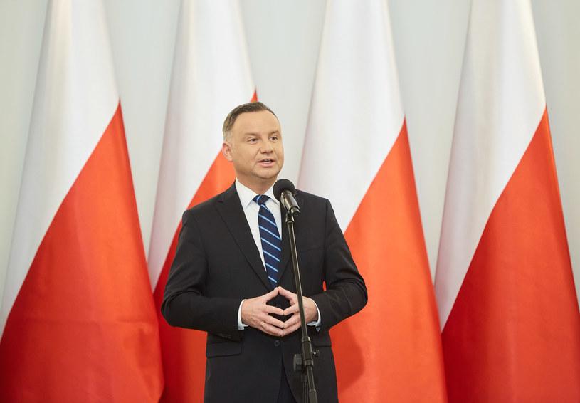 Prezydent Andrzej Duda /Hubert Mathis /Agencja FORUM