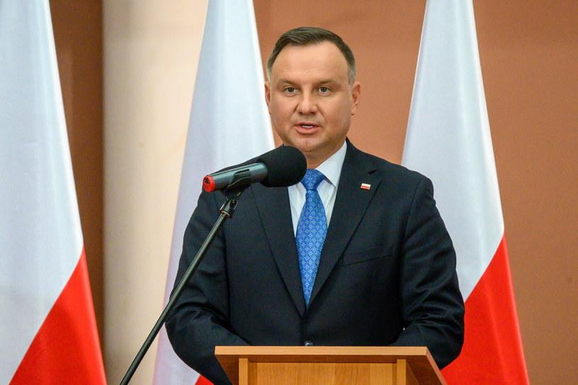 Prezydent Andrzej Duda /Paweł Topolski /PAP